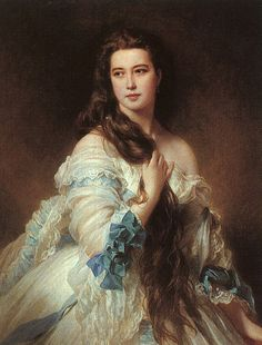 Barbe Dmitrievna Mergassov Madame Rimsky-Korsakov, 1864 by Franz Xaver Winterhalter on Curiator, the world's biggest collaborative art collection. Franz Xaver Winterhalter, Victorian Paintings, Victorian Portraits, Famous Portraits, Digital Museum, Free Art Prints, Hair Painting, Witch Painting, Old Art