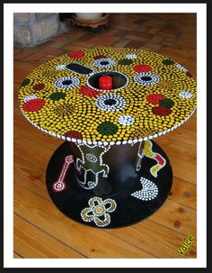 table aborigene, touret, art aborigéne