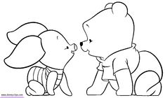 Baby Pooh Coloring Pages page 2 - Disney Winnie the Pooh, Tigger ...