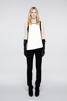 sheath + leather gloves-reed krakoff