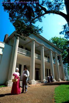 Tennessee The Hermitage Built 1836 US President Andrew Jackson Homestead .