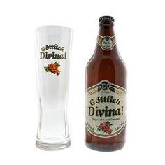 Kit Cerveja Brasileira Trigo Gottlich Divina Weiss 600ml + Copo