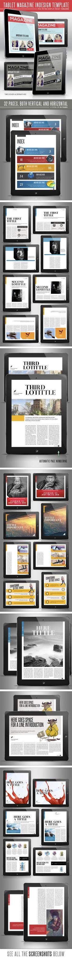 Tablet Magazine Design 2 by Lucas Iacono, via Behance