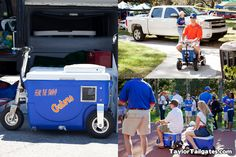 Scooter Coolers!   Tailgating at Florida
