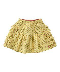 Loving this Green Tile Soesa Skirt - Toddler & Girls on #zulily! #zulilyfinds