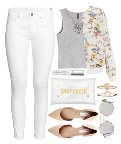 """""""It's all clear now"""" by alaria ❤ liked on Polyvore featuring H&M, Transparente, Illesteva, New Look, Steve Madden, Accessorize, Real Purity, clear and Seethru"""