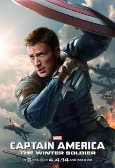 Captain America: Winter Soldier! Oh.My.Gosh! That was an awesome movie!! I just saw it today!