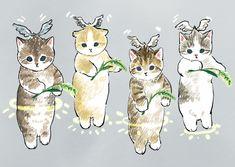 Kitten Drawing, Cute Cat Drawing, Cute Cartoon Drawings, Kitten Cartoon, Cute Cat Illustration, Cute Cat Wallpaper, Kawaii Cat, Anime Cat, Cute Cats And Kittens
