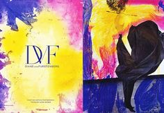 A. P. Scribbles: Art and Fashion: DVF Project 2008