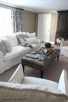 How We Supersized Our IKEA EKTORP Sofa
