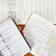 littlestudyplan: bullet journal and monthly spread + study session today.
