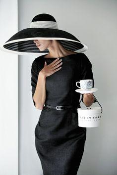 Le chapeau capeline noir chapeaux capeline noir accessoire