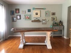 customer feedback photo Farmhouse Table Legs, Lag Bolts, Bolts And Washers, Trestle Table, Red Oak, Barn Wood, Beams, Entryway Tables, Flooring