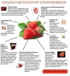 amazing benefits of strawberries.