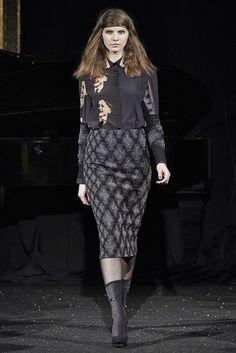 Paris Fashion Week FW 2015 | GOSIA BACZYŃSKA