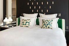 Prestige room Le Roch Hotel, Spa Paris, Hotel Spa, The Prestige, Bed Pillows, Pillow Cases, Room, Furniture, Design