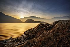 Sunset on the lake #2 by agoralex. Please Like http://fb.me/go4photos and Follow @go4fotos Thank You. :-)