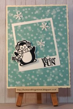 Image result for dashing through the snow stamps penguin bear and seal
