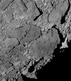 Sonda OSIRIS-REx da NASA mostra imagem da superfície do asteroide Bennu Nasa Goddard, University Of Arizona, Spacecraft, Image Shows, Bouldering, Southern, March 7, Infinite, Distance