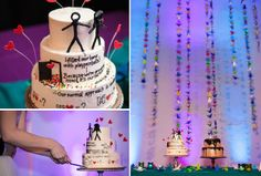 quirky eclectic nashville non religious wedding, planner = @Sarah Willard, #quirky, #nashvilleweddings, #realnashvillewedding, #purplewedding