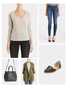 This cashmere sweater is on my radar this winter season! I can see it paired with denim on the weekend or over a button down as a great layered look for work.