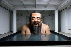 """""""A Giant Statue of Confucius"""" - Zhang Huan"""
