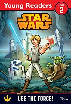Use the Force!: A Star Wars Saga Reader  Before Luke can be a Jedi, he needs to learn from Yoda! This first reader retells the classic scenes from The Empire Strikes Back in which Luke learns to use the Force for the very first time.  With simple text and original illustrations this is the perfect first step into Star Wars for young readers.