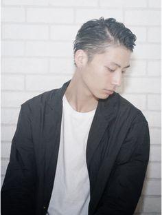 アルバム ハラジュク(ALBUM HARAJUKU)オールバック刈り上げグランジスマートマッシュイメチェン_3130