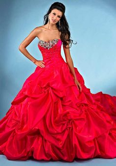 Beautiful quinceanera Gowns, New Arrival 2013 Quinceanera Dress With Pick-ups and Beading Style AQ21, prom dress