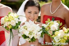 Bridal Bouquet from Fuji Floral Design - http://www.fujifloraldesign.com/bouquets.html