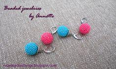 Гарненькі бісерні штучки | Beaded jewelries by Annette: Літнє мімімі
