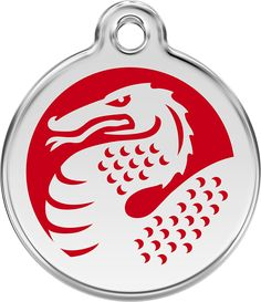 Beautifully made from solid stainless steel, these Red Dingo pet ID tags are very cute and durable. These tags are thicker than any pet ID tags in the market which make them one of a kind. This Red Dr
