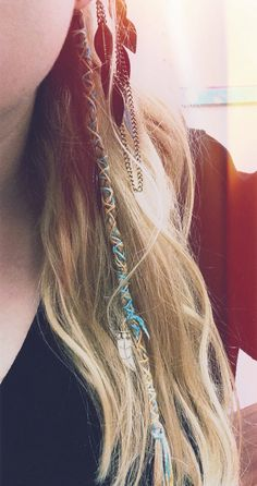 I wish I was a hippy. Cute hair wrap