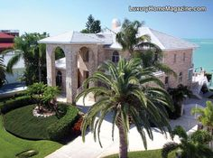 Panoramic Gulf of Mexico Views! - The Luxury Game Luxury Life, Luxury Homes, Luxury Living, Tampa Bay Area, Mansions Homes, Gulf Of Mexico, Love Home, House And Home Magazine, Front Yard Landscaping