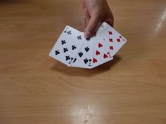 4枚のカードから当てるトランプマジック1 Playing Cards, Magic, Playing Card Games, Game Cards, Playing Card