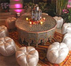 Moroccan Themed Party Ideas Arabian Nights Theme Parties Events: Lantern Centerpiece, Themed table and chairs