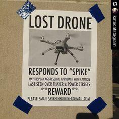"""#Repost @katecatstagram with @repostapp. ・・・ #lostdrone #findspike"" Photo taken by @find_my_drone on Instagram, pinned via the InstaPin iOS App! http://www.instapinapp.com (05/26/2015)"