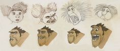 The Croods: chris sanders untitled croods art - graphic art. Main. The making of your favorite movies, TV shows, music videos, computer games, commercials, etc. Exclusive behind the scenes content - DigiTitles.com