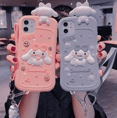 Kawaii Phone Case, Girly Phone Cases, Pretty Iphone Cases, Iphone Phone Cases, Phone Covers, Kawaii Accessories, Phone Accessories, Objet Wtf, Foto Baby