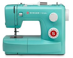 singer 3223p sewing machine, petrol. the 3223r (raspberry) and 3223h (honey) are also fantastic colors.