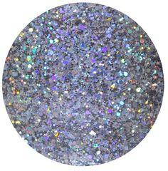 "Glitter Lambs ""Quantum Physics"" Silver Holographic Makeup Cosmetic Glitter, Nail Glitter, Body Art Glitter, Face Glitter, Hair Glitter Roots, Festival Rave Glitter"