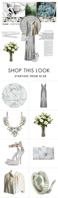 """""""Diamonds, Marbles and Roses"""" by anettismyname ❤ liked on Polyvore featuring GE, CB2, Fame & Partners, Posh Girl, Charlotte Olympia, Guy Laroche and famebabe"""