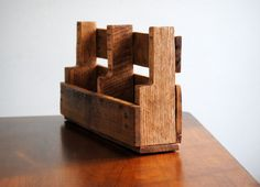 Mail Organizer  Magazine Rack  Rustic  by revampedandrevived, $40.00