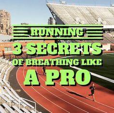 Running breathing tips for beginners. 3 secrets of breathing like a Pro.