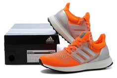 quality design d7e8d ec7d8 Now Buy Online Adidas Knitting Men Orange Save Up From Outlet Store at  Footseek. Jrenfr owenia · Adidas Boost Running Shoes