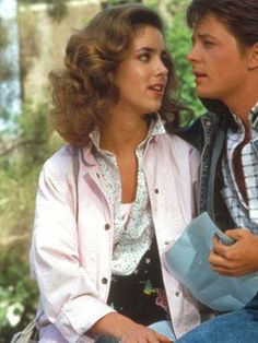 jennifer's pink 80's back to the future jacket - Google Search