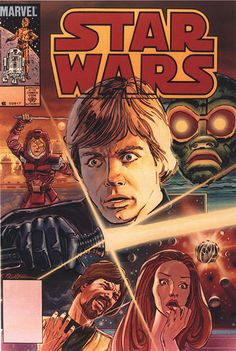 Marvel Comics of the 1980s: 1984 - Anatomy of a Cover - Star Wars #87 by Tom Palmer