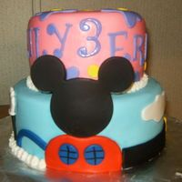 Micky Mouse Clubhouse Themed Cake
