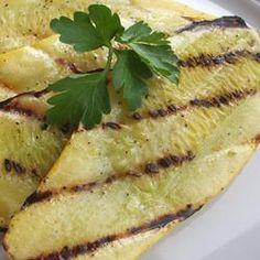 Grilled Yellow Squash Recipe - Allrecipes.com