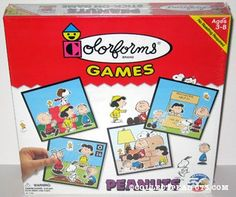 My grandma Kammer brought these to church for us play with and keep us quiet. Not charlie brown, but others.